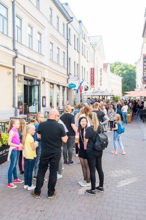 Eesti youtuberid live Tartus