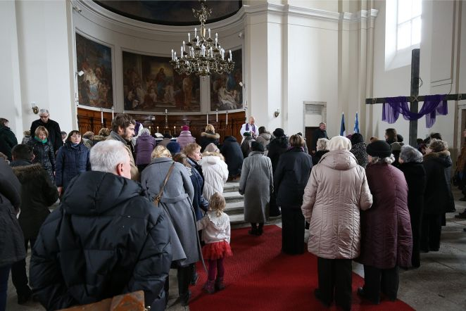 Suure reede missa Kaarli kirikus