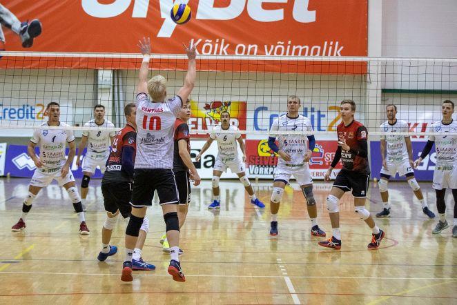 Saaremaa Võrkpalliklubi vs Tallinna Selver