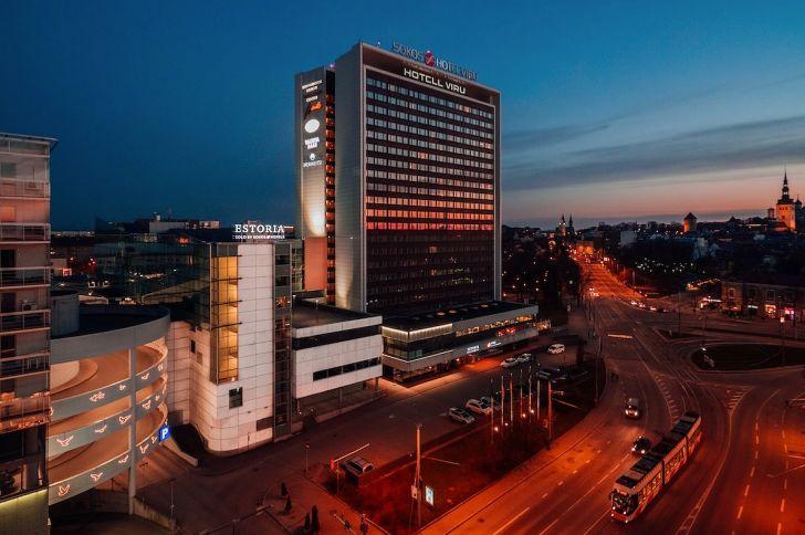 Viru hotelli välisvaade praegu