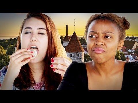 HITTVIDEO: Ameeriklased maitsevad esimest korda elus eestlaste maiustusi