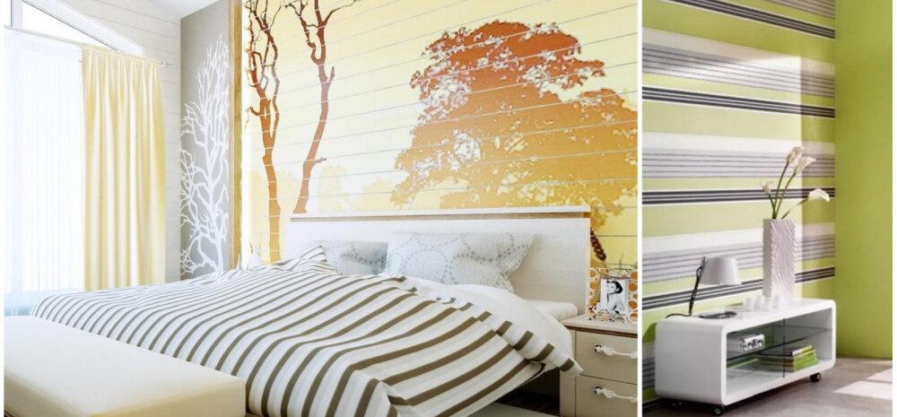 ФОТО │ Идеальный комплект: выбираем обои-компаньоны для спальни