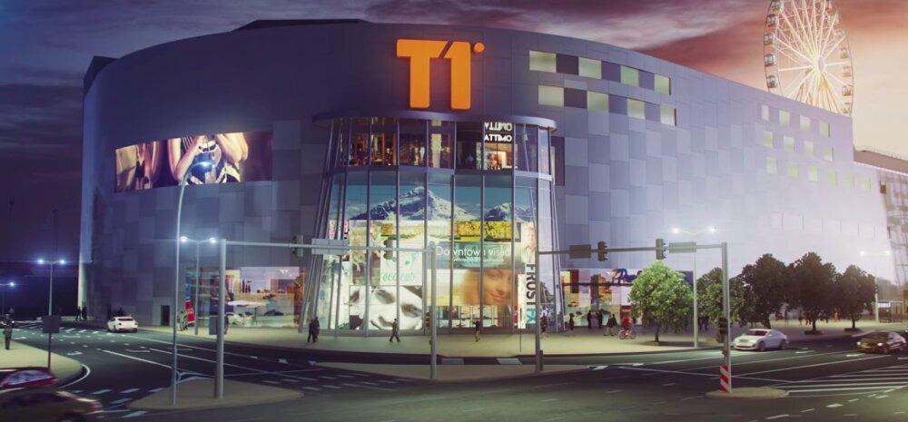 ФОТО И ВИДЕО | Стала известна дата открытия торгового центра T1 Mall of Tallinn