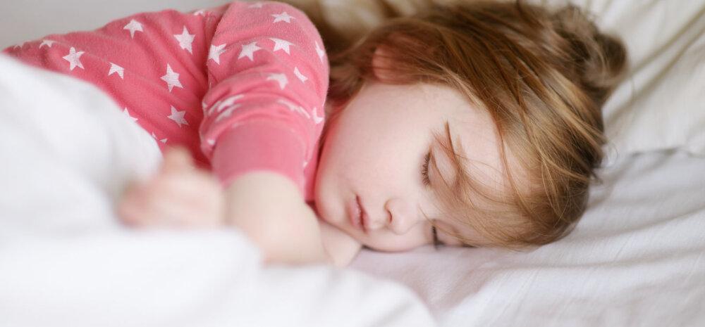 Ikka veel pissib laps voodisse — mida teha?