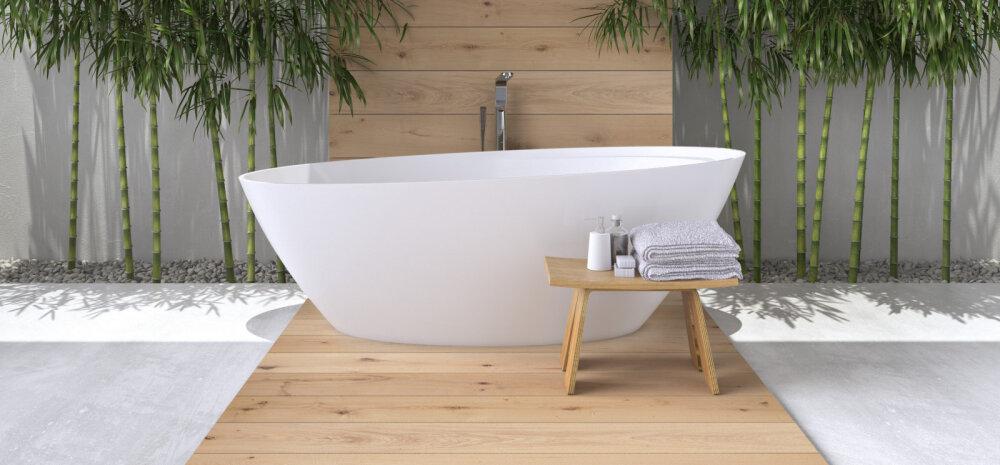 SUUR ÜLEVAADE | Milliseid värve, materjale ja mööblit soosib 2018. aasta vannitoas