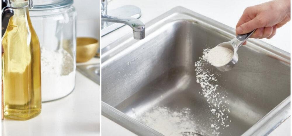 Что будет, если насыпать муку в раковину, и почему этот трюк пригодится всем домохозяйкам