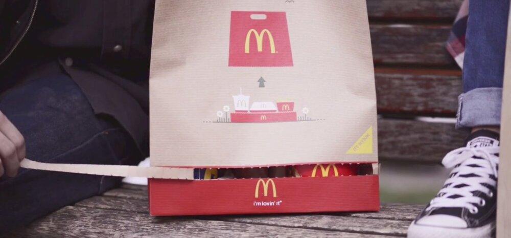 McDonald's püüab kliente võita uue geniaalse leiutisega