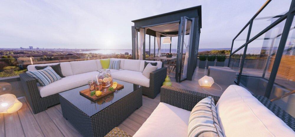 FOTOD: Millised on Tallinna edevamad penthouse'id ja kes neid ostavad?
