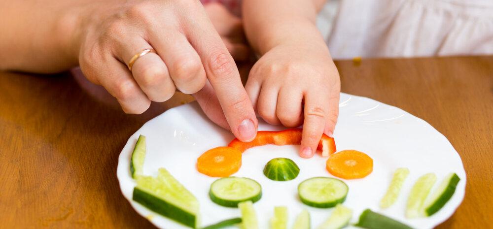 Kuus nupukat nõksu, mille abil laps köögivilju sööma meelitada