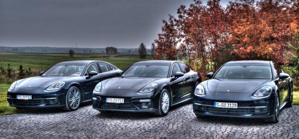 Uus Porsche Panamera: kolm mootorit, kolm erineva iseloomuga autot