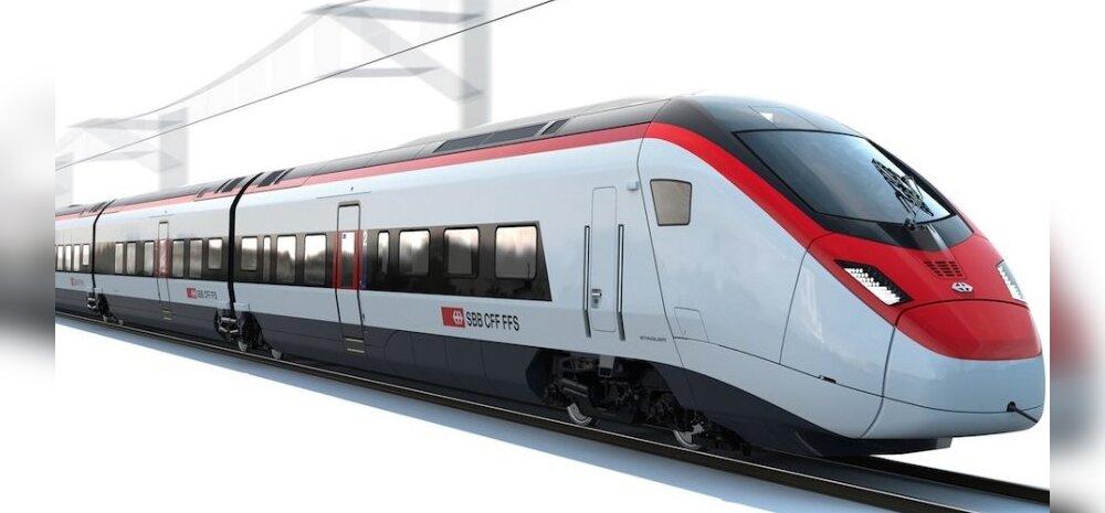 VIDEOVÕRDLUS: Stadler ehitab Alpi tunnelite jaoks 29 uut tüüpi kiirrongi