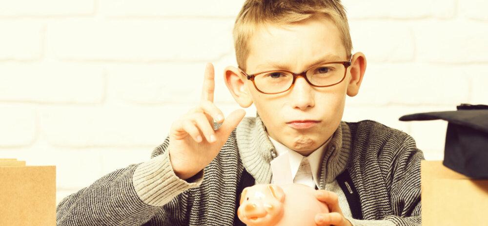 Kui sinu koolilaps on rahaasjus nutikas, siis on tal võimalus osaleda suure auhinnafondiga viktoriinis!