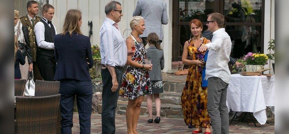 ФОТО: Министры погостили у президента Ильвеса на хуторе Эрма