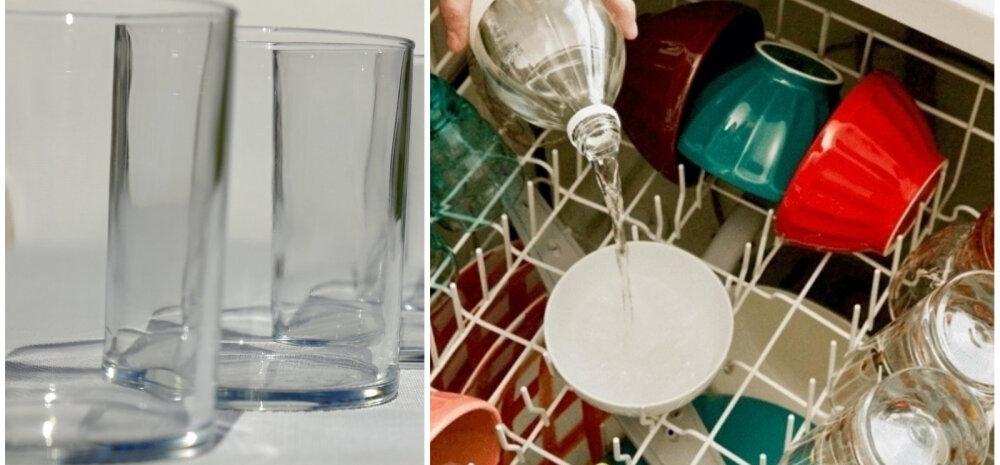НА ЗАМЕТКУ | Элементарный способ, как избавиться от разводов на посуде