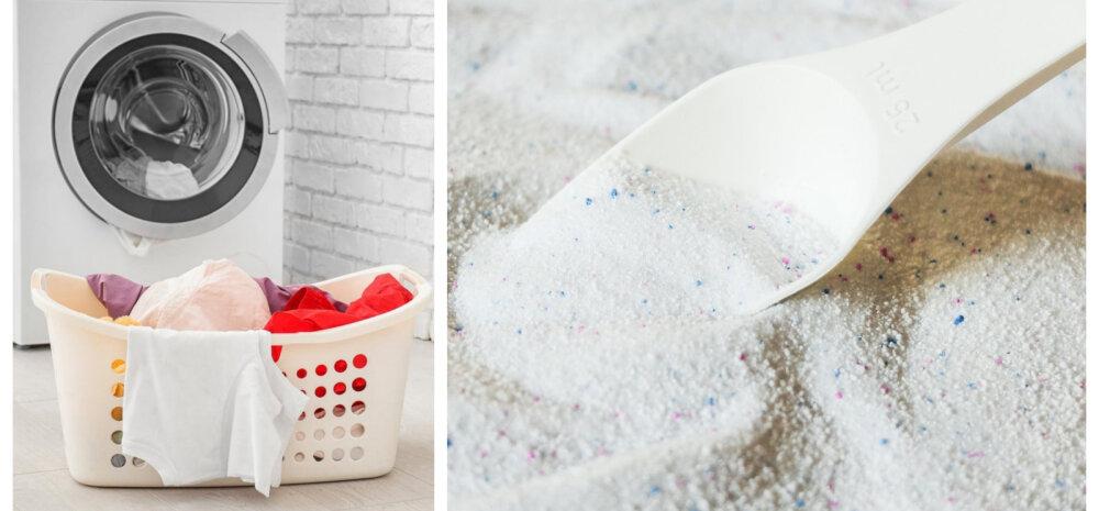 НА ЗАМЕТКУ | Как быстро проверить качество стирального порошка
