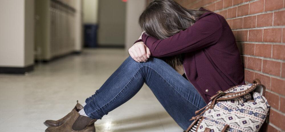 Gümnasist: koolipsühholoogi juurde aega saada on sama raske, kui praeguse ilmaga mitte kukkuda ja ära külmuda