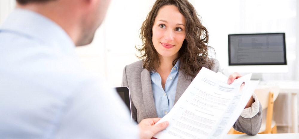 """Ära lase end tööle kandideerimisel diskrimineerida — """"küsida võib kõike"""" töövestlusel ei kehti!"""