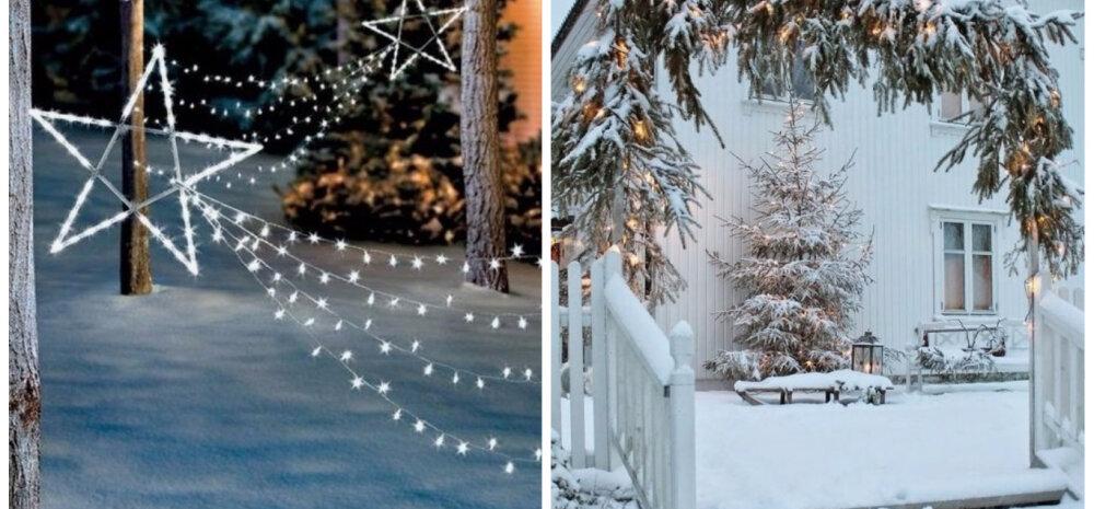 FOTOD   Koduaed talveks särama — 30 ideed!