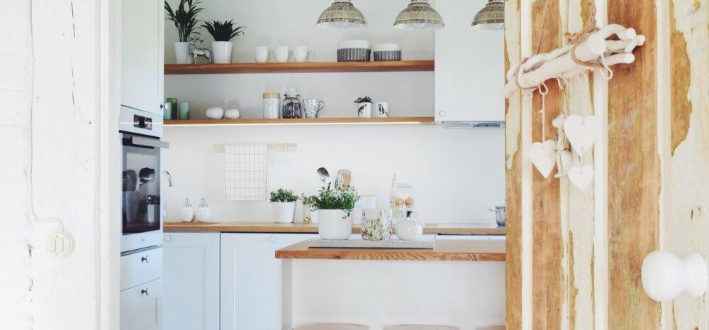 """""""MEIE KODU 2018"""" │ Hingega kujundatud köök vanas maamajas"""