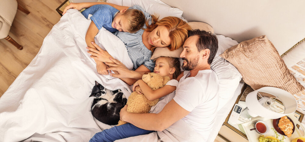 100 lihtsat sammu, et oma laps õhtul magama saada