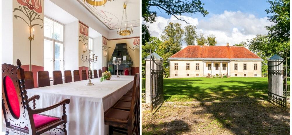 ФОТО И ВИДЕО | Легко ли продать мызу в Эстонии? Смотрите, какой роскошный особняк годами ждет нового владельца