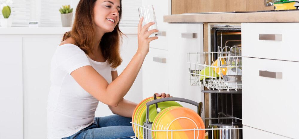 Pead teadma: kaheksa asja, mida sa ei tohiks mitte kunagi nõudepesumasinasse panna