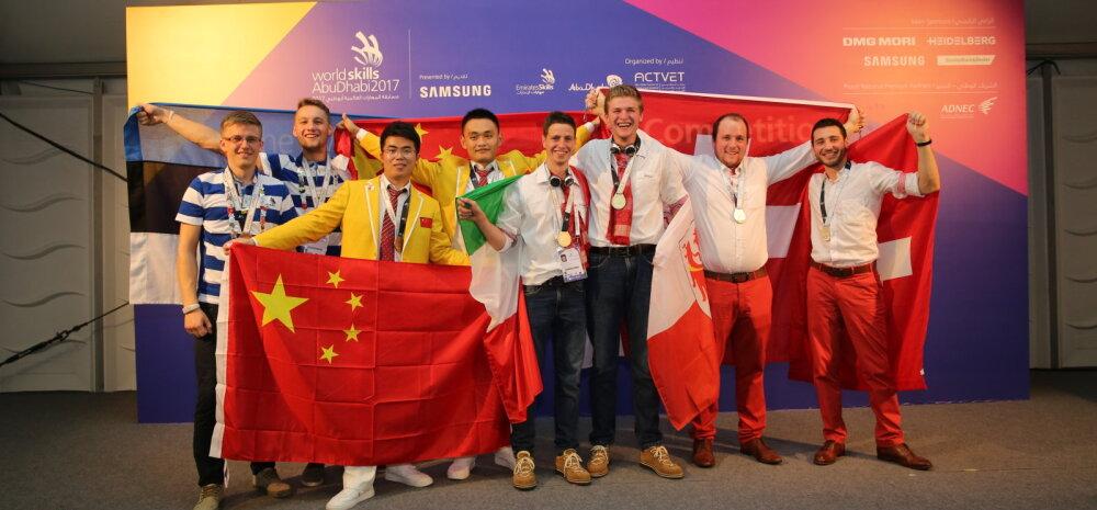 Võimas! Eesti noored teenisid ülemaailmsetel kutsemeistrivõistlustel esmakordselt medalivõidu: meie kutseharidus on maailmatasemel