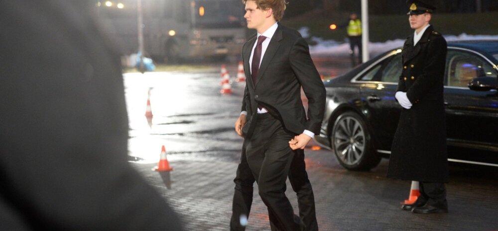 FOTO: Peeter Rebane saabus presidendi vastuvõtule oma hurmava boyfriendiga