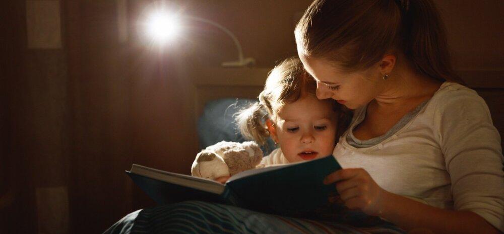 Kui laps on saanud raamatu lugemise käigus erinevaid situatsioone läbi elada, on tal elus lihtsam toime tulla.