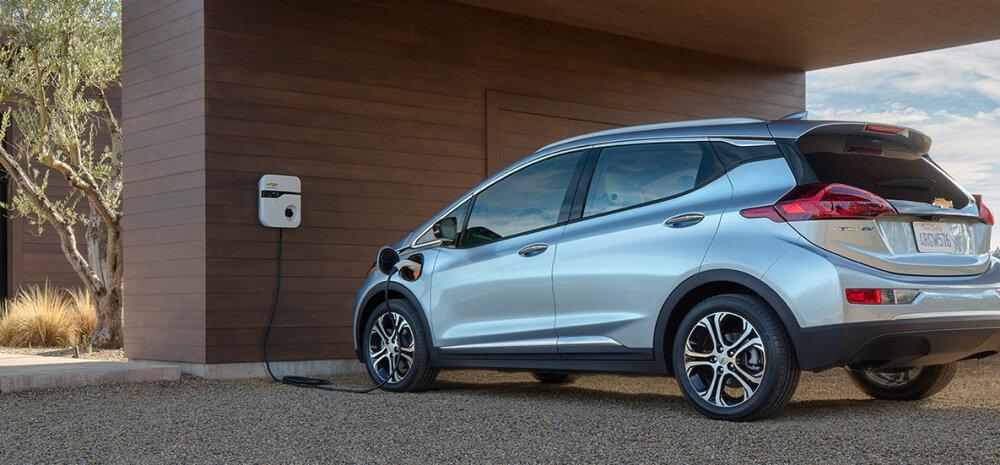 Chevrolet esitles CESil uut täiselektrilist sõiduautot Bolt