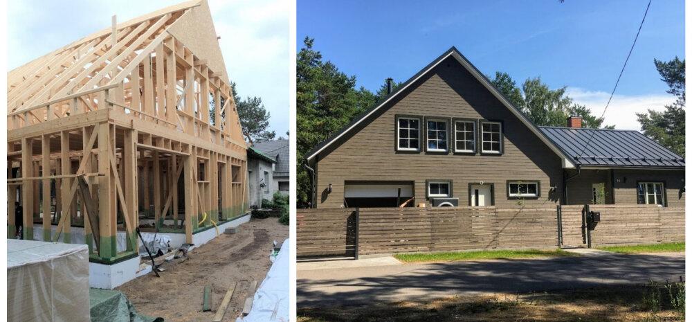 KODUBLOGI | Kui palju läheb ühe maja ehitamine maksma, kui kõik ise teha?