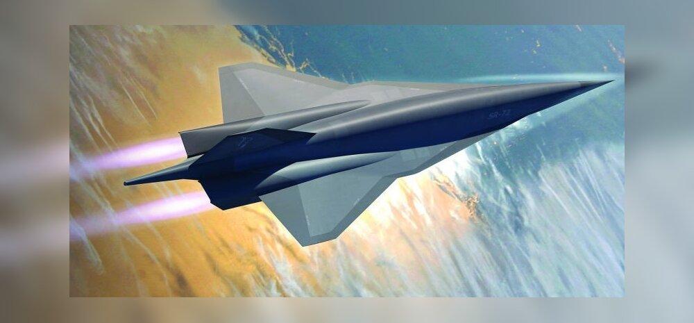 Kuuekordse helikiirusega SR-72: selline on luurelennunduse järgmine kõva sõna