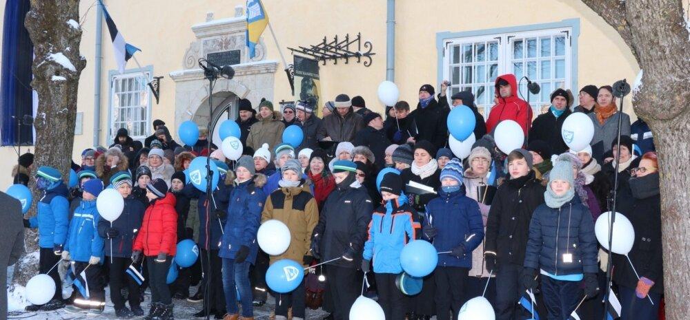 Eesti vabariik 100 Kuressaare, paraad