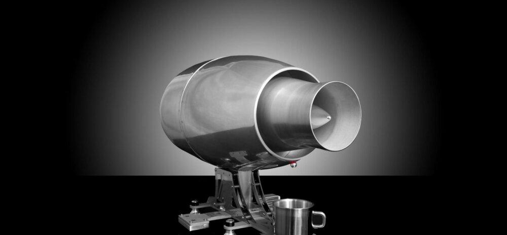 See reaktiivmootor käivitab kõige absurdsema kohvimasina teie köögis