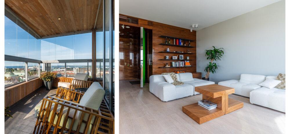 Kodu, kuhu jagub luksust ja hingematvaid vaateid