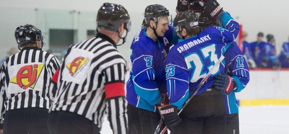 Eesti jäähoki meistrivõistlused - Viking vs Narva