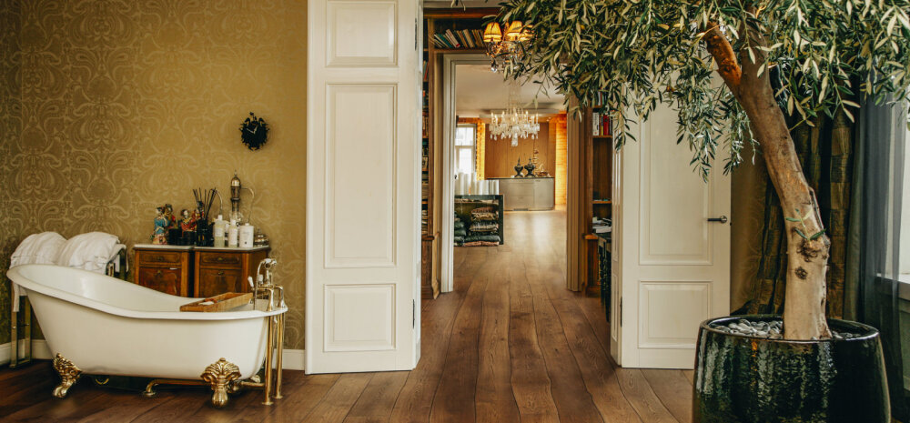 Наши в Голливуде: эстонские дизайнерские полы в доме Роберта Дауни-младшего
