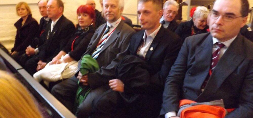 Kündmise mm Taanis, jumalateenistus Thistedi kirikus