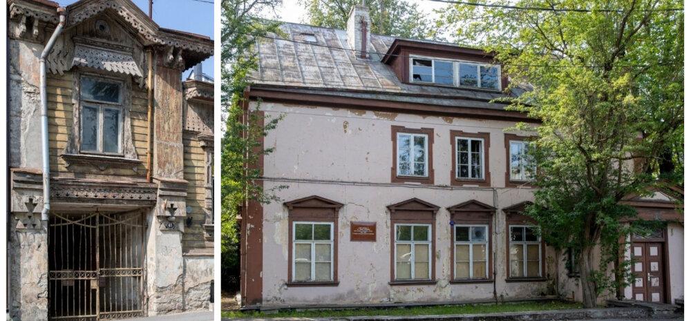 ФОТО | Заброшенные дома Кадриорга: кому принадлежат и какое у них будущее?