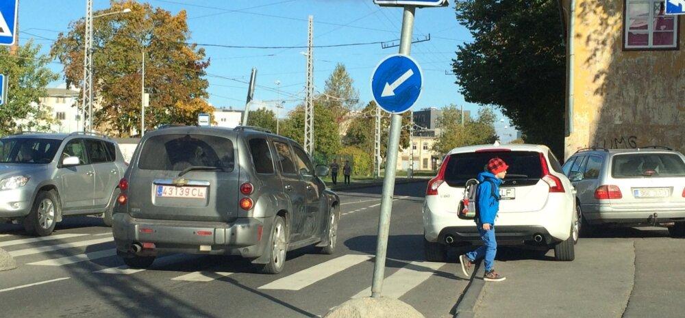 Nahaalne parkimine Tallinnas Pagaripoiste kohviku juures
