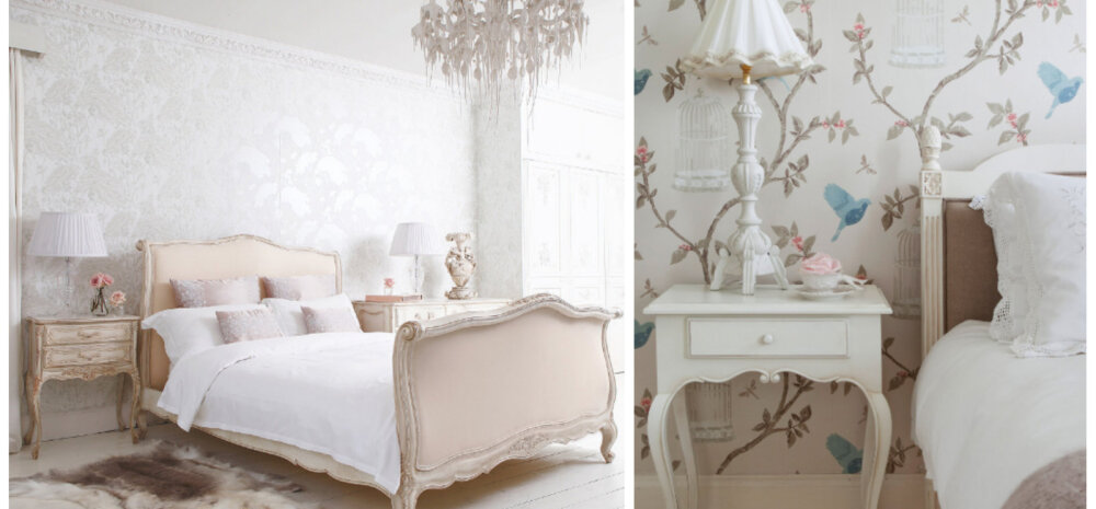 Нежная палитра и цветочные принты: создаем спальню в стиле прованс
