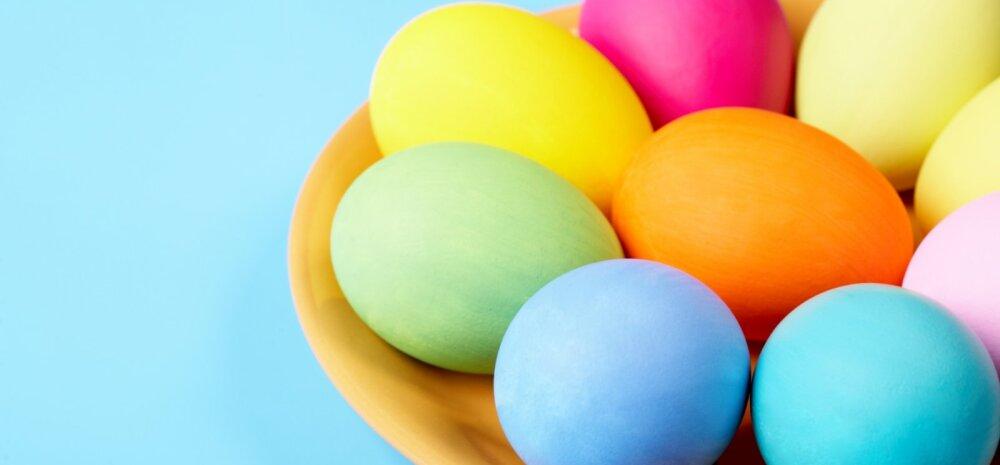 """<span style=""""color: #111111;"""">Eesti toiduliidu juhataja selgitab, millised munade värvimiseks mõeldud vahendid on ohutud</span>"""