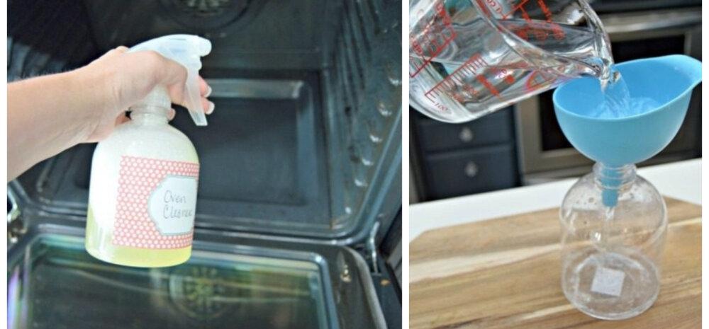 ДЕЛАЕМ САМИ │ Домашнее средство для чистки духовки