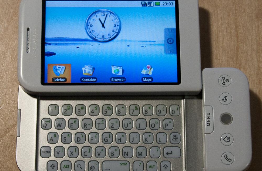 10 aastat Androidi: vaatleme, milline oli maailma esimene Android-telefon