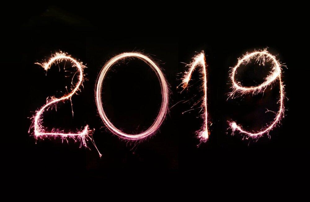 Uus aasta, uued väljakutsed! Vaata, mida sinu tähemärk 2019. aastaks lubab
