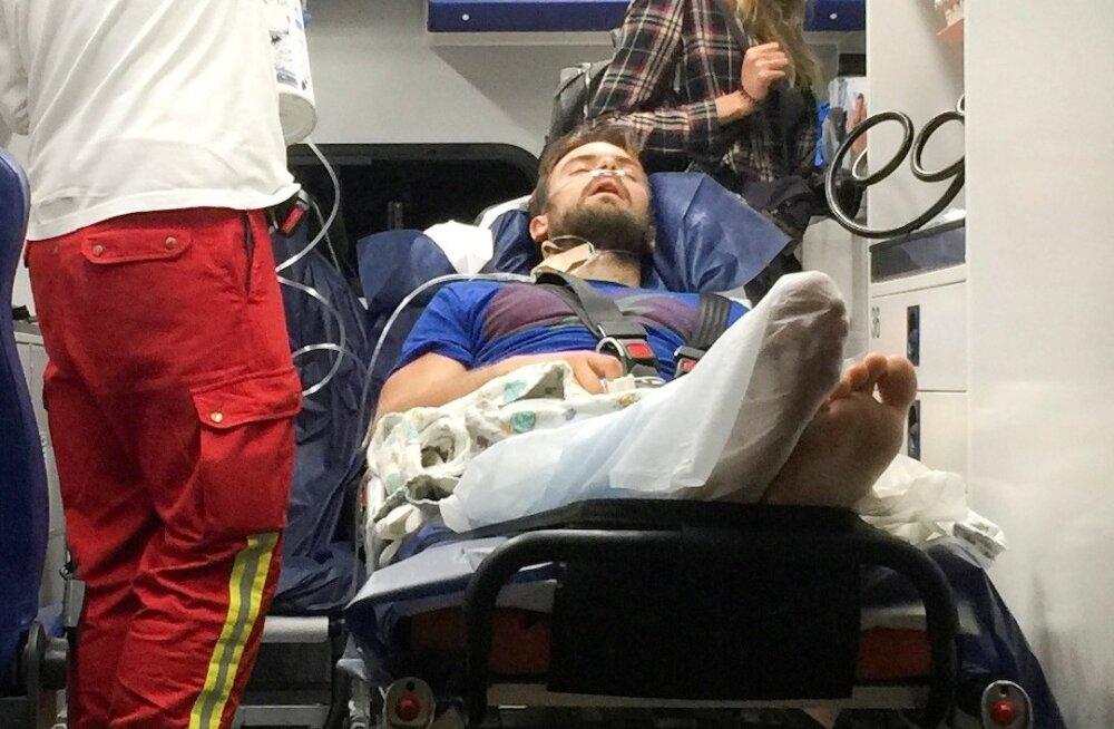 Väidevalt mürgitamise ohvriks langenud Vene aktivist Pjotr Verzilov toimetati möödunud nädala lõpus Saksamaale ravile