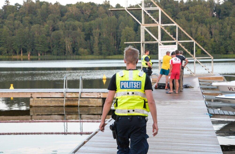 Viljandi järve uppus meesterahvas