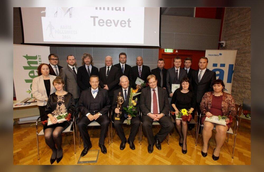 Aasta Põllumees 2014 konverents Riigikogu saalis