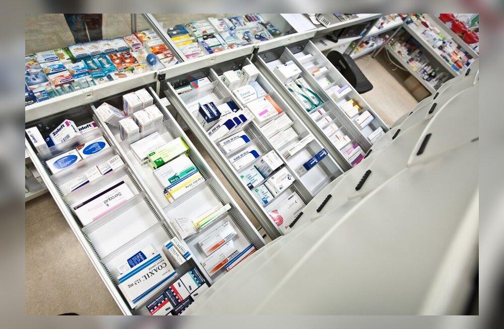 Ravimiamet tegi kuue kuuga 6400 eurot trahve