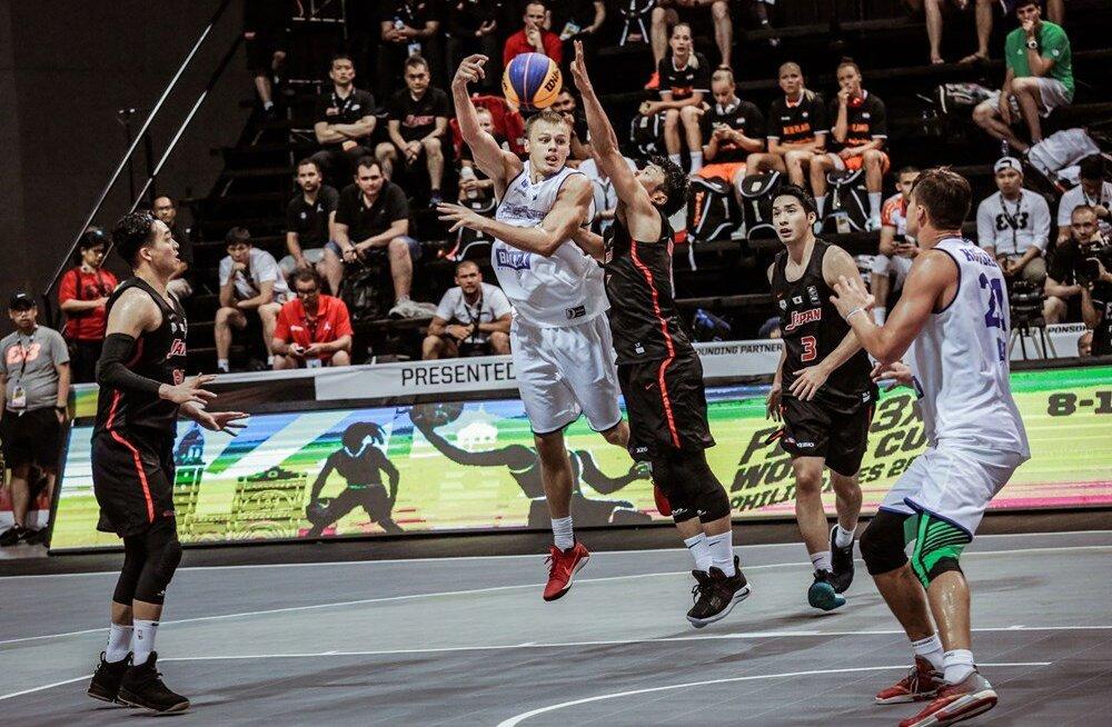 Eesti 3x3 korvpallikoondis alustas MM-i kahe võiduga